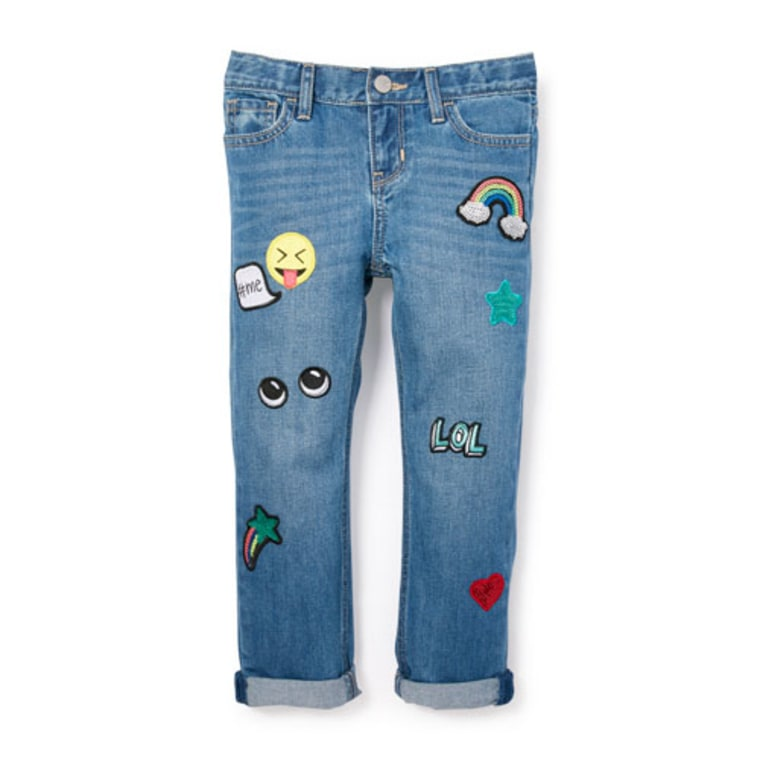 Children's Place emoji jeans