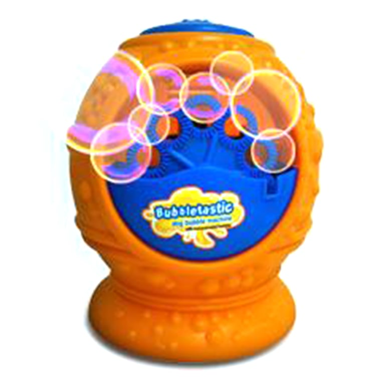 Fun in the sun! Spend an afternoon playing, pouncing and chasing bubbles with this adorable bubble machine just for dogs