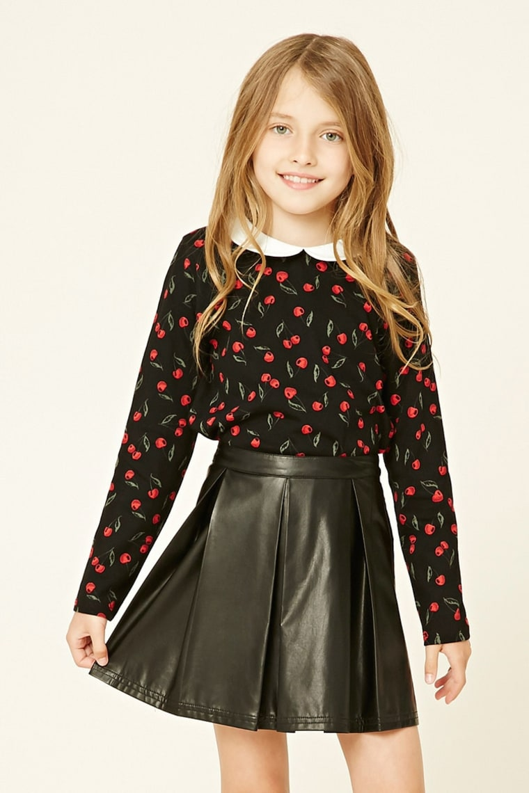 Forever 21 Cherry Print Top