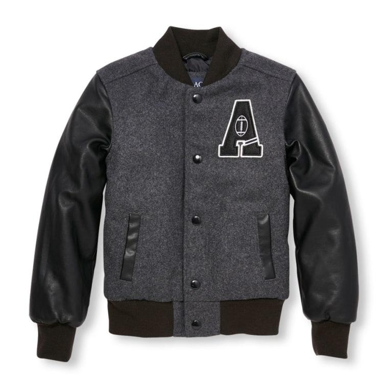 Children's Place letterman jacket