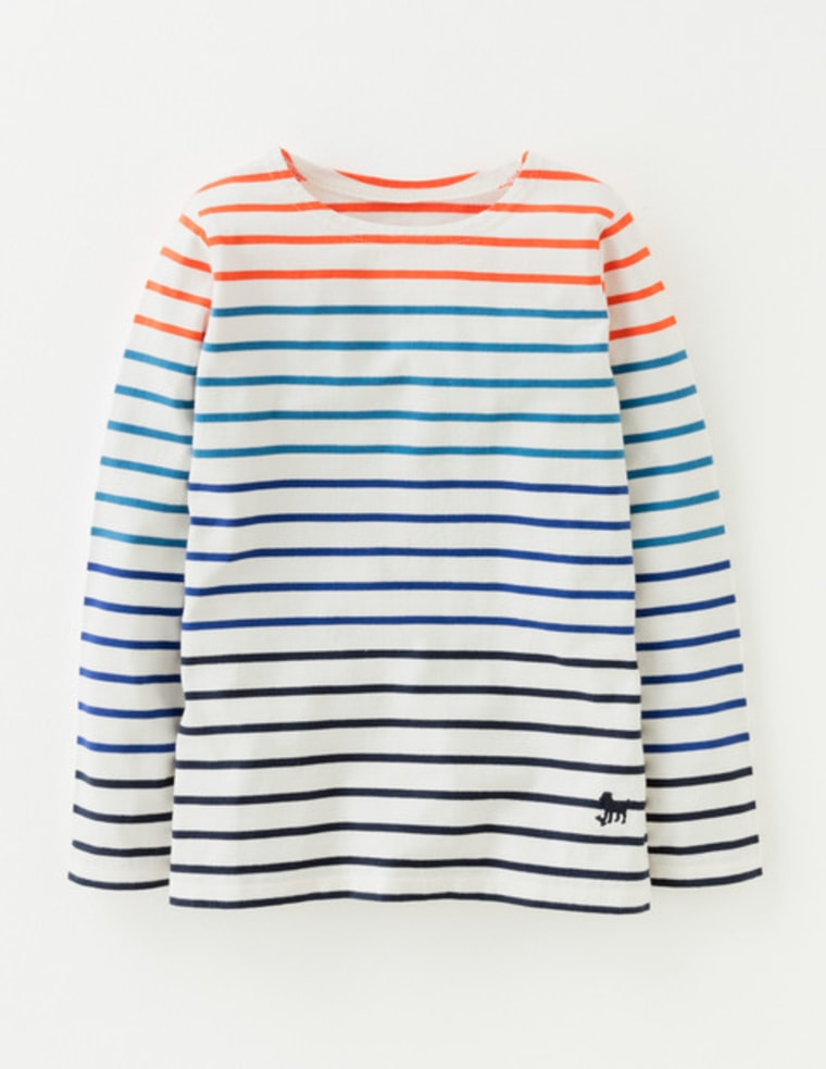 Ombre Breton T-Shirt from Boden