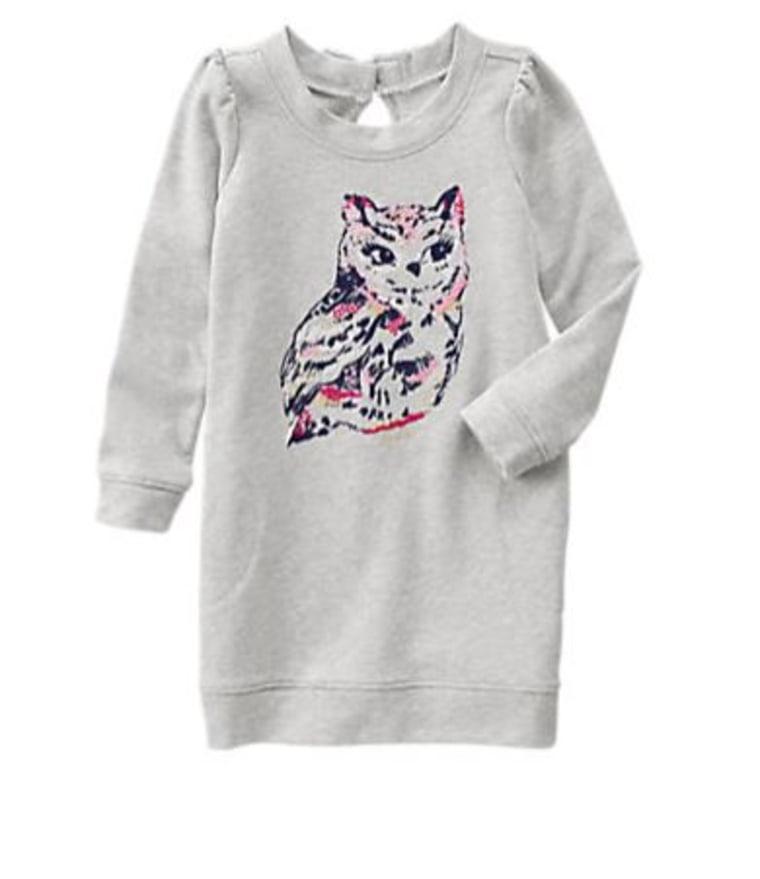 Gymboree Owl Soft Dress