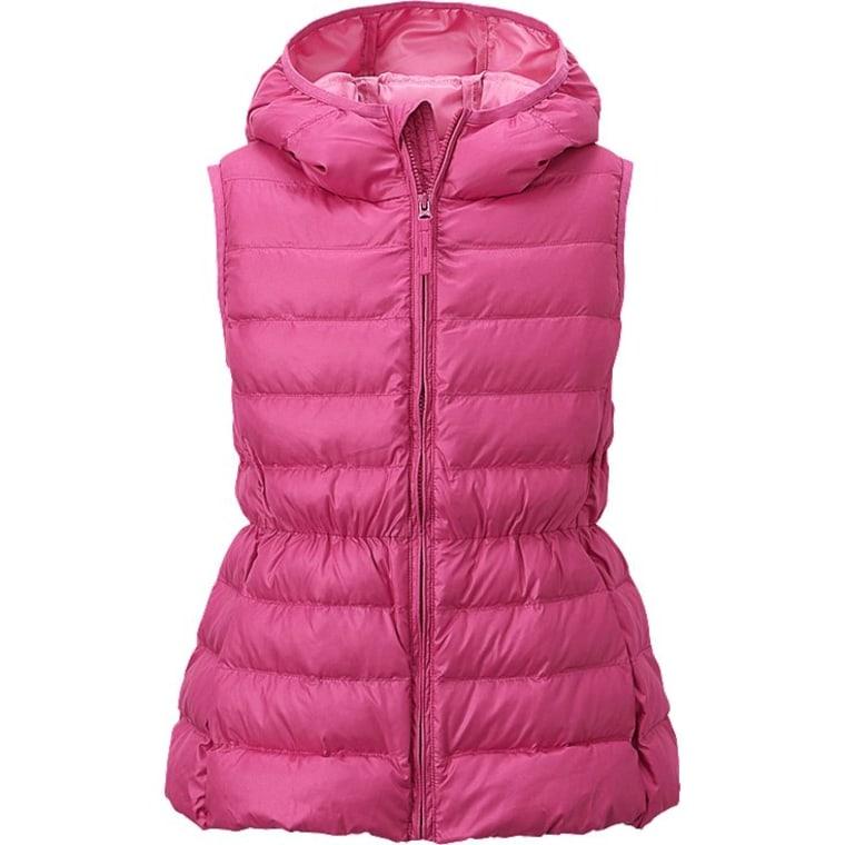 UNIQLO pink kids' vest