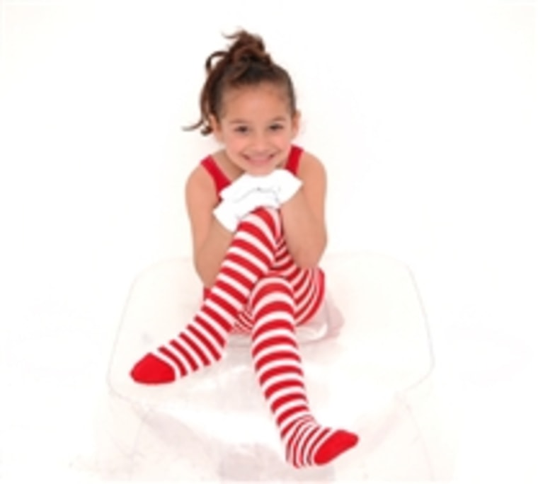 We Love Colors Striped Tights
