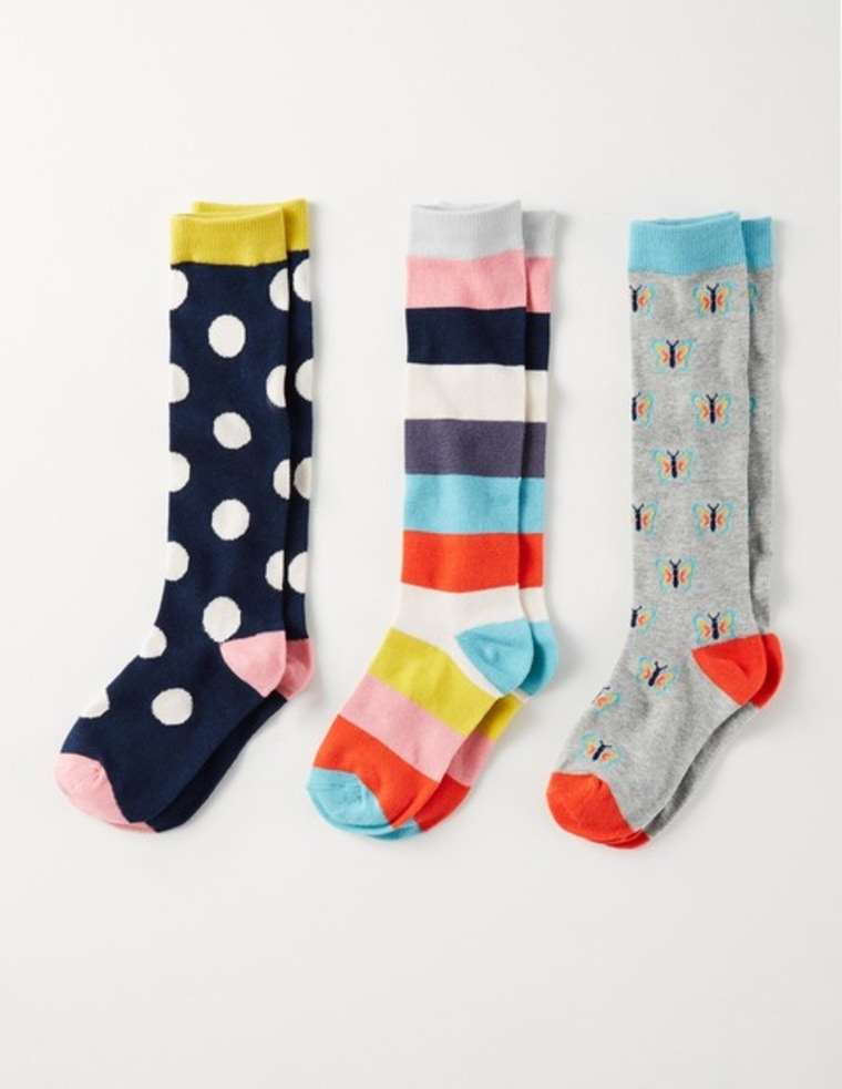 Boden 3 pack knee socks