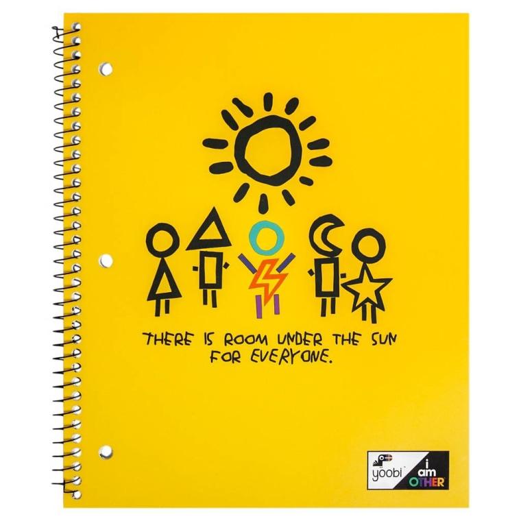 Yoobi x i am OTHER Spiral Notebook