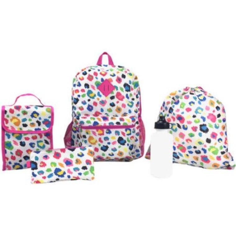 Walmart 5-piece backpack set