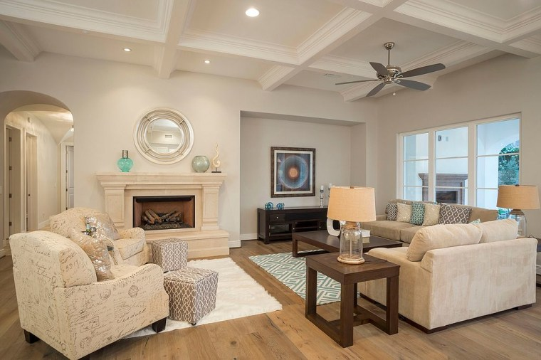 Michael Phelps' living room