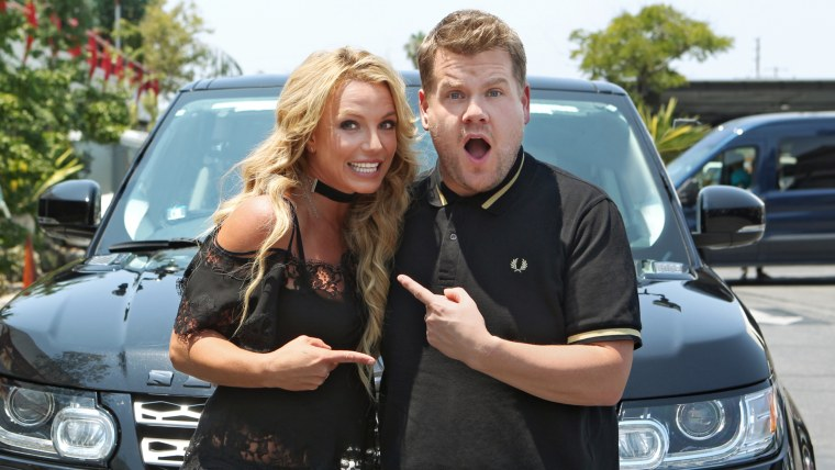 Britney Spears joins James Corden for Carpool Karaoke