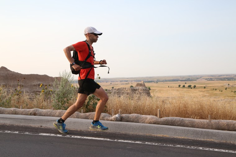 Bill Sycalik is on a quest to run a marathon in every national park