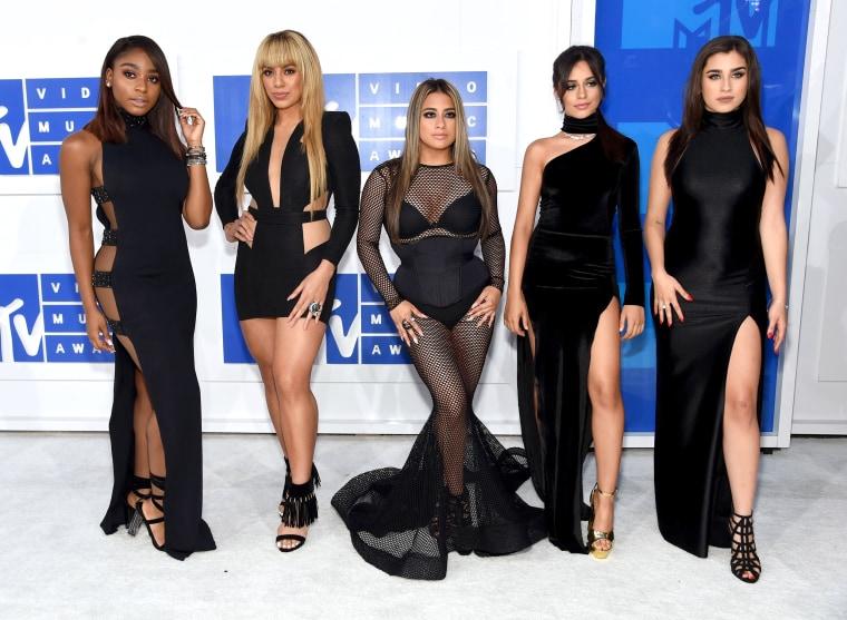 Fifth Harmony 2016 MTV Video Music Awards red carpet