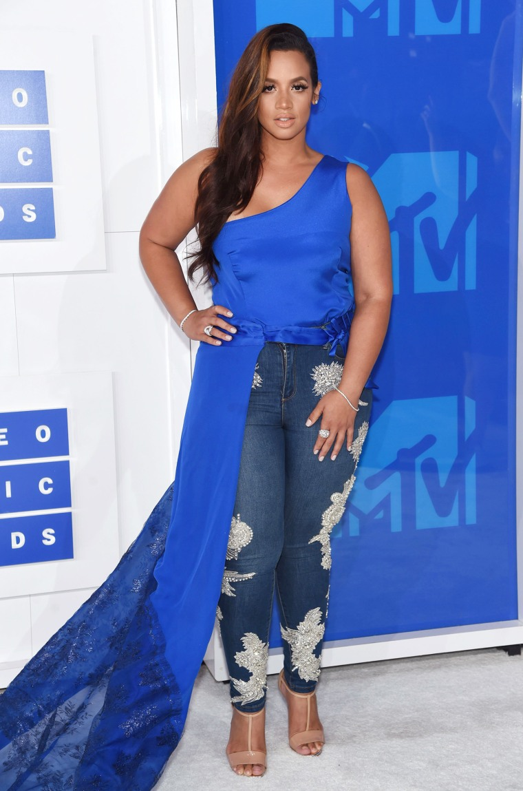 Dascha Polanco 2016 MTV Video Music Awards red carpet