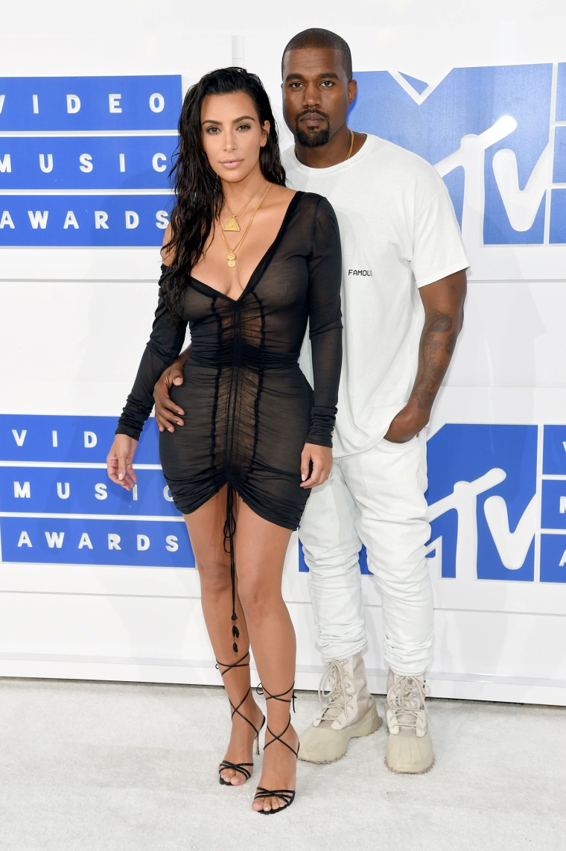 Kanye West, Kim Kardashian 2016 MTV Video Music Awards