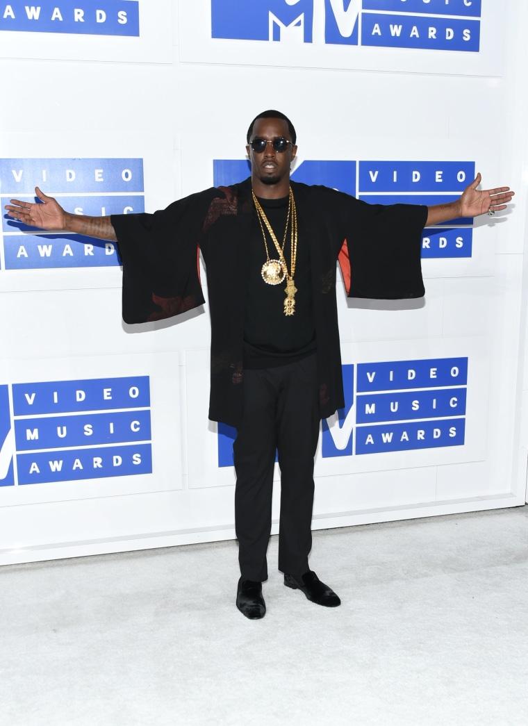 """Sean """"P. Diddy"""" Combs MTV VMAs"""