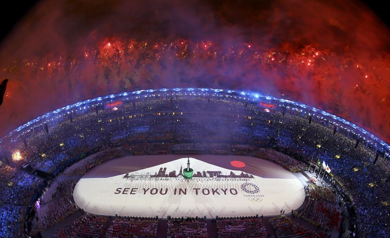 Image: 2016 Rio Olympics - Closing ceremony