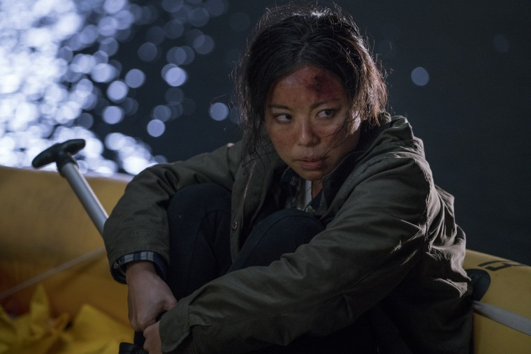 Michelle Ang plays Alex in Fear The Walking Dead, a role that has earned the actress an Emmy nomination.