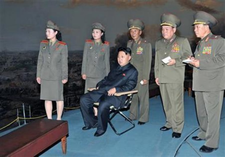 North Korean leader Kim visits the Victorious Fatherland Liberation War Museum in Pyongyang