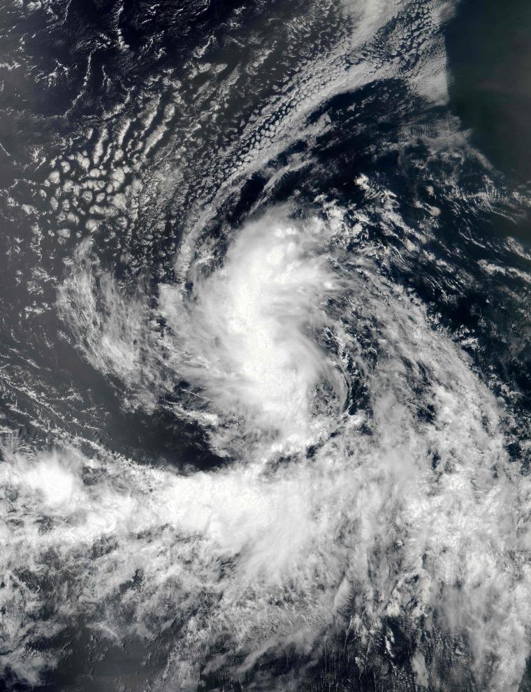 Image: Tropical Storm Gaston
