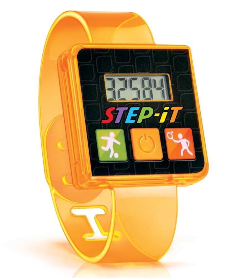 McDonald's Step-It Happy Meal wristband toy