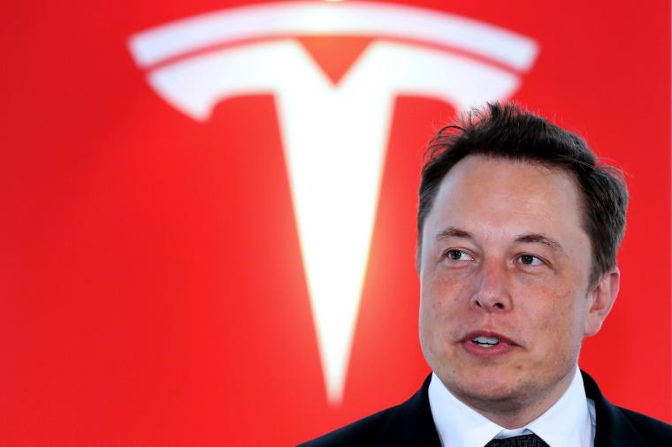 Tesla Motors Inc. Chief Executive Officer Elon Musk News Conference