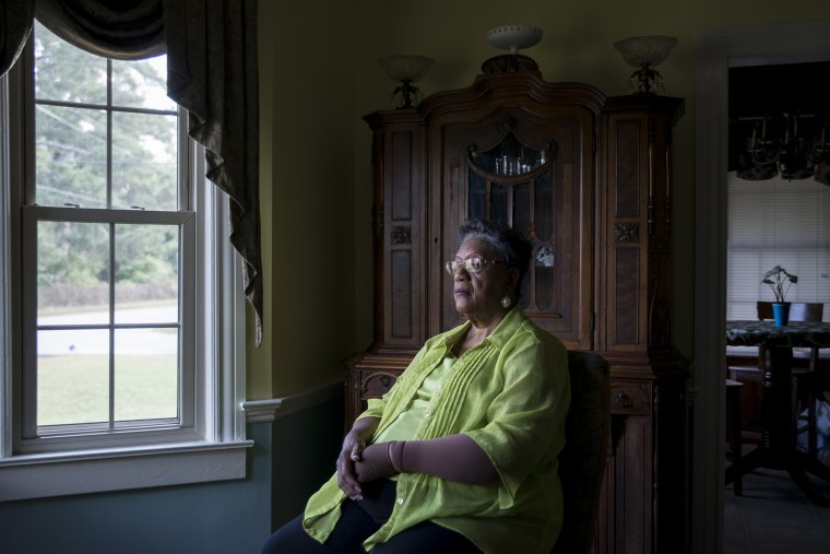 """Edith Ingram, 74, is just called """"The Judge"""" by many people in Sparta, Georgia"""