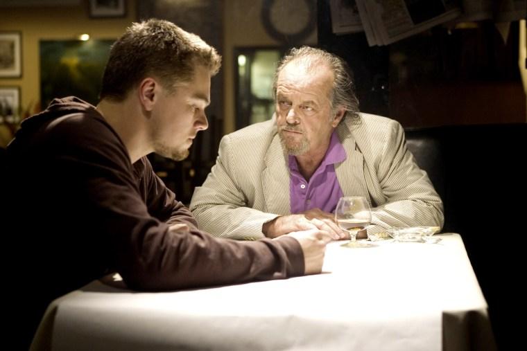 THE DEPARTED, Leonardo DiCaprio, Jack Nicholson