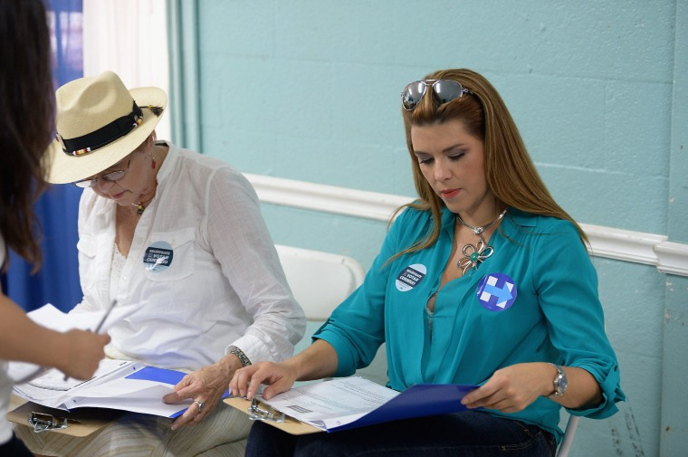 Alicia Machado Campaigns For Hillary Clinton