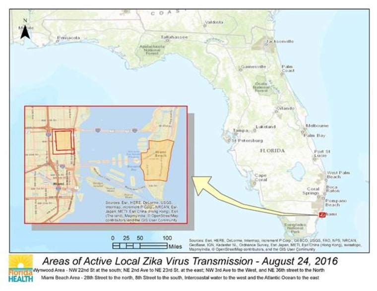 A new case of Zika has been reported in Florida's Palm beach county. There are now 43 home-grown cases of Zika in Florida.