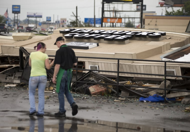 IMAGE: Indiana tornado damage