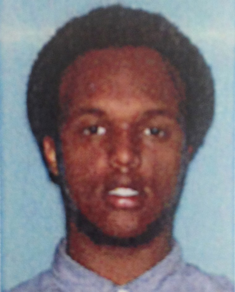 This undated photo provided by the U.S. Attorney's Office shows Mohamed Roble.