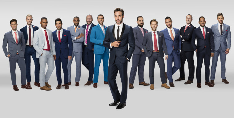 """The cast of """"Finding Prince Charming,"""" Logo's upcoming gay dating show."""