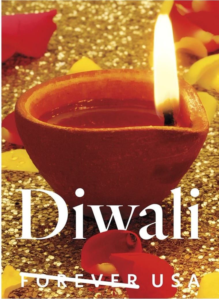 The United States Postal Service has announced a Forever stamp commemorating the Hindu festival of lights, Diwali.