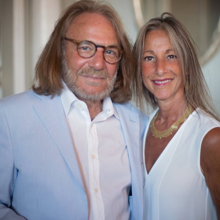 Harold Bornstein and his wife, Melissa.