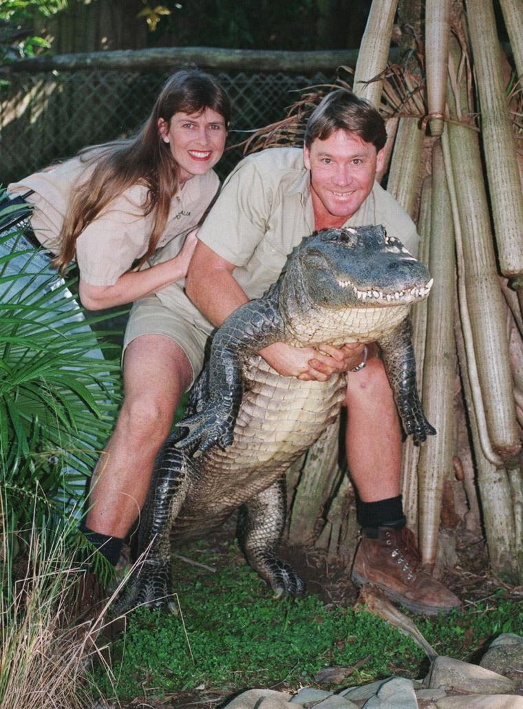 Terri and Steve Irwin