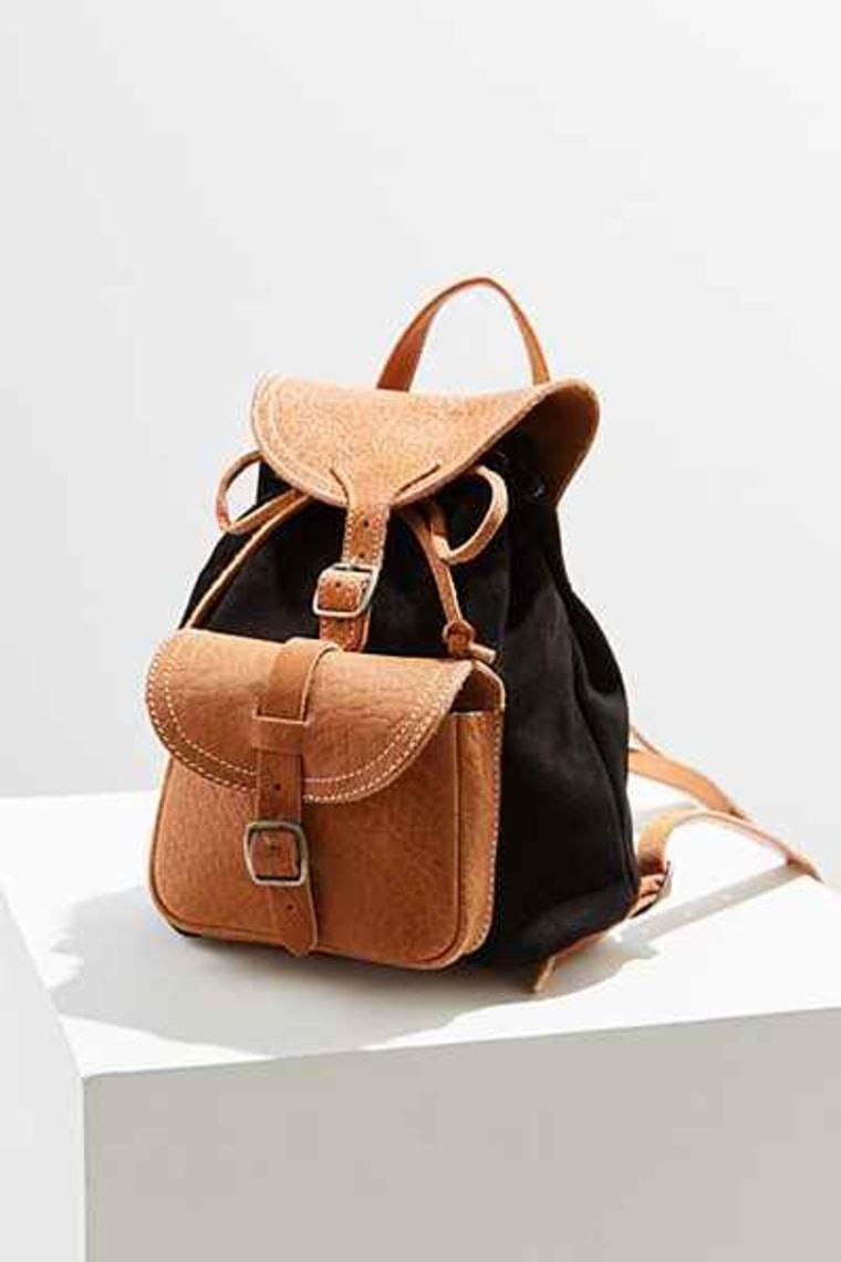 BDG Velma Leather Mini Backpack