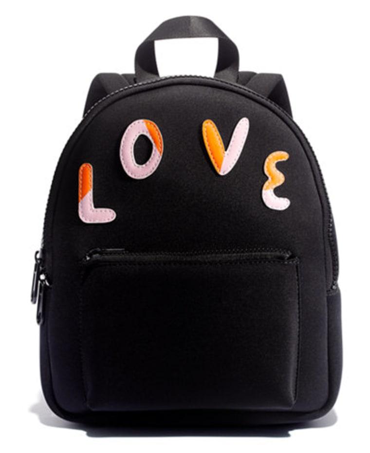 LOVE BRAVERY Mini Backpack