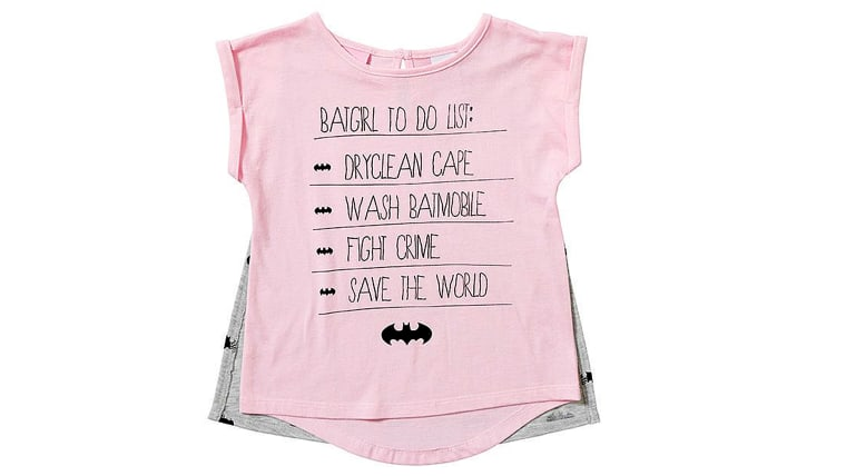 f6223b76b9f5c Target yanks Batgirl T-shirt for girls after parents 'insulted' by ...