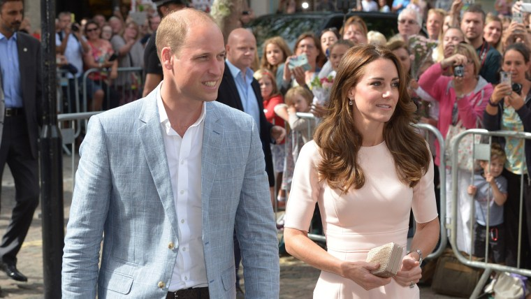 Prince William, Duchess Kate in Royal Visit to Cornwall