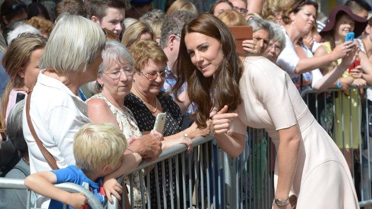 Duchess kate Visits Cornwall