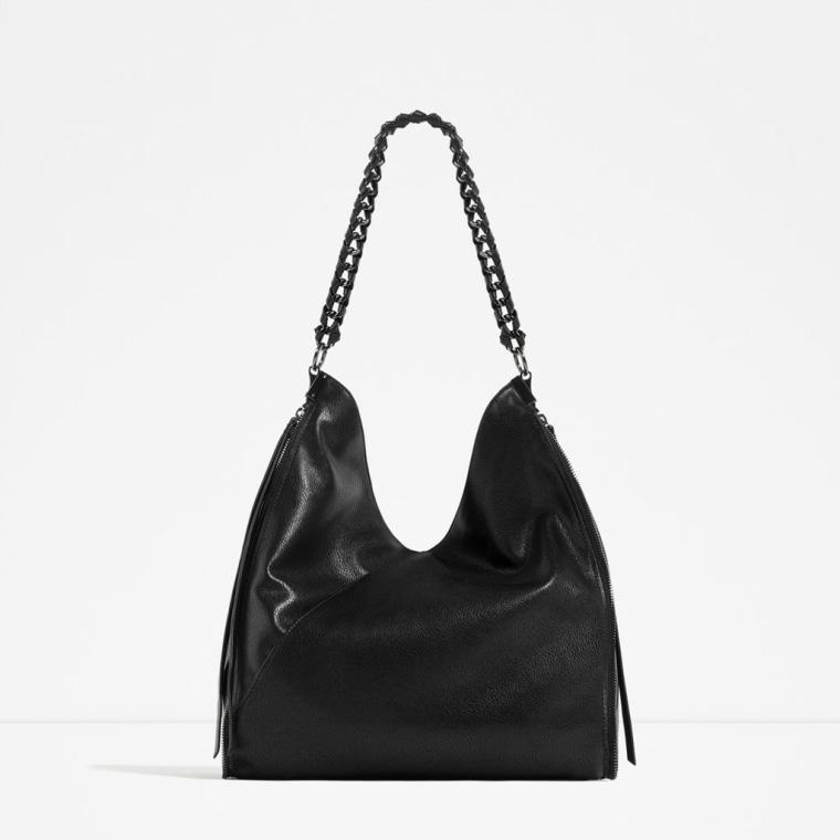 Chain Detail Bucket Bag