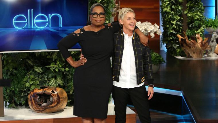 Ellen with Oprah