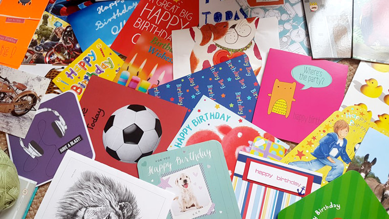 Ollie Has Received Over 20000 Birthday Cards