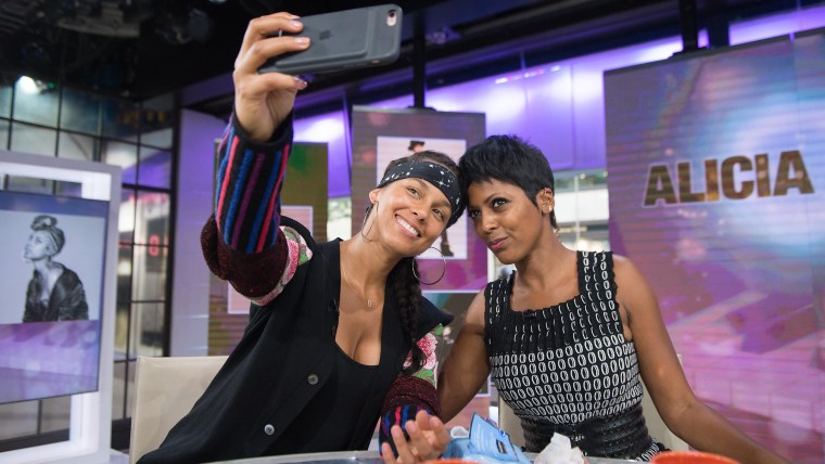 Alicia Keys with Tamron Hall