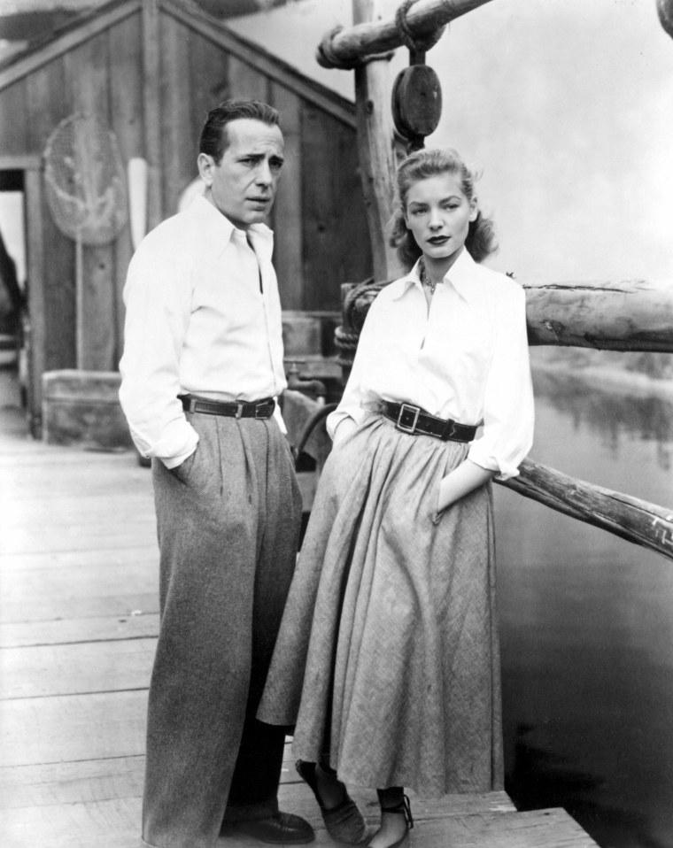 KEY LARGO, Humphrey Bogart, Lauren Bacall, 1948