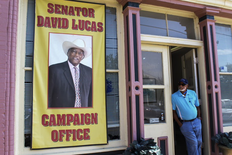 David Lucas has served the East Macon area as a state senator since 2012. In his childhood, he said he had a near-death experience that inspired him to pursue a political career. (Phillip Jackson/News21)