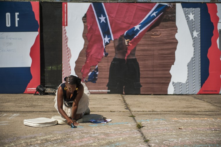 Visual artist Sophia Dawson writes a tribute to those killed by police officers during the 2016 AfroPunk Music Festival at Commodore Barry Park.  The event is a yearly celebration of Afrocentrism, multicultural otherness and experimentation that has closed out the summer months in Brooklyn, N.Y. for the past 11 years. Afropunk has become a palpable force in its own right and is considered the forefront of African-American creativity. The statements featured below are a few opinions on the current state of Black America.