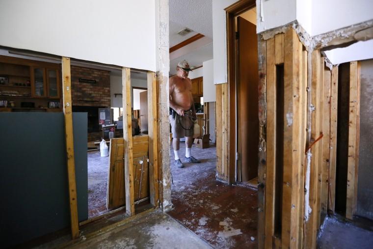 Image: Mold remediation in Prairieville, La., home