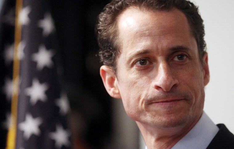 Image: Rep. Anthony Weiner (D-NY) Announces His Resignation Amid Lewd Photo Scandal