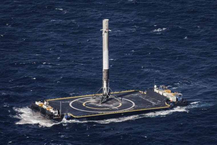 A SpaceX rocket booster landed in April will fly again before the close of 2016. It will be the first time SpaceX has launched a recycled rocket.