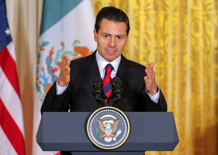 Image: Mexico President Enrique Pena Nieto accused of plagiarizing law degree thesis